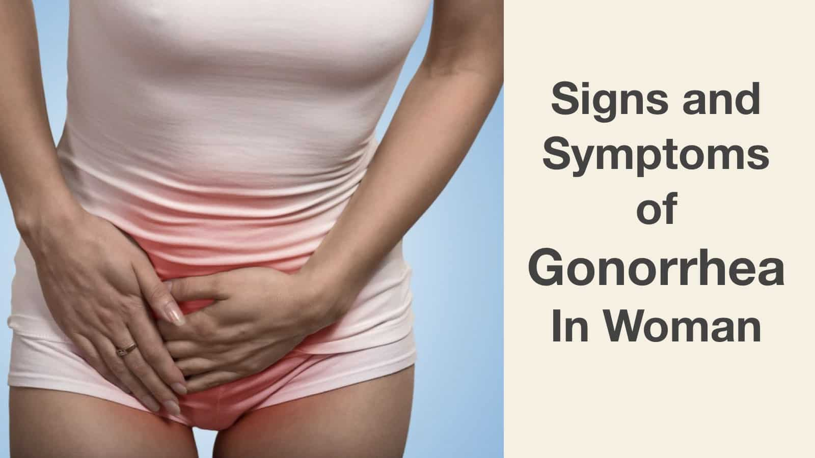 Symptoms Of Gonorrhea