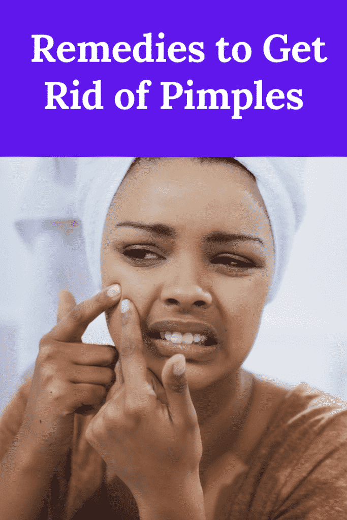 5 Quick and Easy Remedies to Get Rid of Pimples