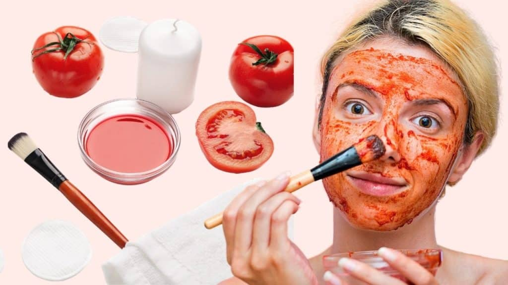 Tomato mask good for your skin
